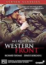 the true horrors of first world war as portrayed in erich maria remarque in all quiet on the western The novel all quiet on the western front, by erich maria remarque, is indeed an anti-war novel remarque, who was a soldier during world war i, tells the story of paul baumer, a man who is urged to.